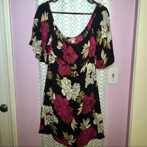 Volcom Delicious Day Floral Print Dress